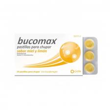 Bucomax (24 Pastillas Para Chupar Miel Y Limon) - Cinfa
