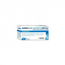 Sandozcare Mucoilitico Efg (600 Mg 10 Comprimidos Efervescentes) - Varios