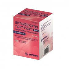 Simeticona Normon (40 Mg 100 Comprimidos Masticables)