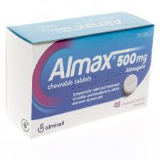 Almax (500 Mg 48 Comprimidos Masticables)