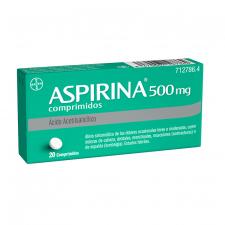 Aspirina (500 Mg 20 Comprimidos) - Bayer