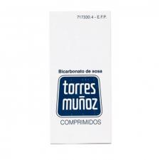 Bicarbonato De Sosa Torres Muñoz (500 Mg 30 Comprimidos) - Novartis
