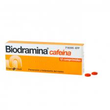 Biodramina Cafeina (12 Comprimidos) - Aquilea-Uriach