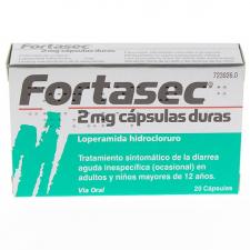 Fortasec (2 Mg 20 Cápsulas)
