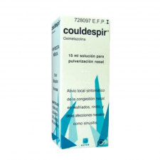 Couldespir (0.5 Mg/Ml Nebulizador Nasal 15 Ml) - Alter Fcia