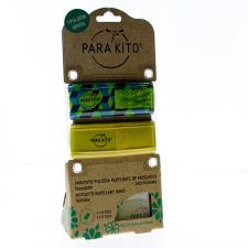 Parakito Duplo Pulsera Adulto Anti-mosquitos