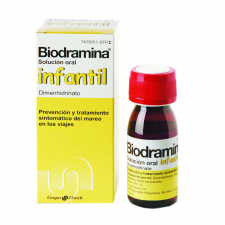 Biodramina Infantil (4 Mg/Ml Solucion Oral 60 Ml) - Aquilea-Uriach