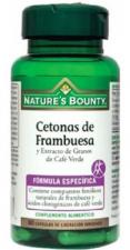 Nature´s Bounty Cetona Frambuesa Y Ext. Cafe Verde 60 Capsulas