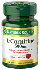 Nature´s Bounty L-Carnitina 500Mg. 30 Comprimidos