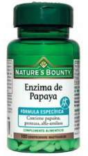 Nature´s BountyEnzima De Papaya 100 Comprimidos Masticable