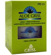 Crema Hidratante Aloe Vera Fps15 60 Ml. Aloe Grisi - Grisi