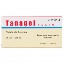 Tanagel Polvo (250 Mg 20 Sobres) - Varios