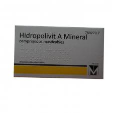 Hidropolivit A Mineral (30 Comprimidos Masticables) - Menarini