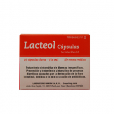 Lacteol (10 Cápsulas) - Varios