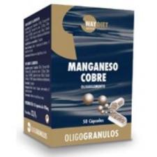 Manganeso-Cobre Oligogranulos 50Caps.
