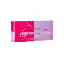 Cinfamar Infantil (25 Mg 10 Comprimidos) - Cinfa