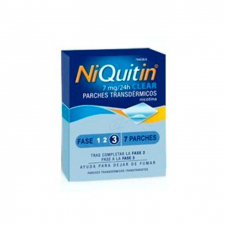 Niquitin Clear (7 Mg/24 H 7 Parches Transdermicos 36 Mg) - Glaxo Smithkline