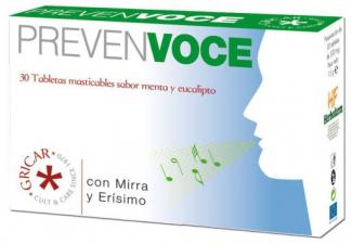 Prevenvoce 30 Comp - Herbofarm
