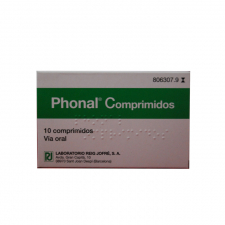 Phonal (10 Comprimidos Para Chupar) - Varios