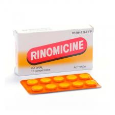 Rinomicine Activada (10 Comprimidos) - Varios