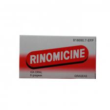 Rinomicine Grageas (6 Grageas) - Varios