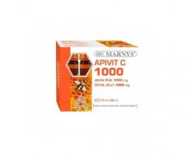 Jalea Real + C Apivit C 1000 Mg 20 Ampollas Marnys - Farmacia Ribera