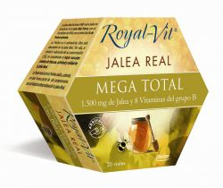 Jalea Real Royal Vit Mega Total 1500Mg 20Amp.