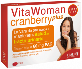 Vita Woman Cranberry Plus 60 Comp. - Eladiet