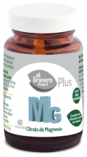 Mg 500 (Citrato De Magnesio) 60 Comp.