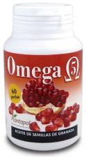 Omega 5 (Ac. De Semillas De Granada) 500Mg. 60 Comp - Plantapol