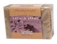 Jabon Natural Arcilla Verde 100Gr - Plantapol