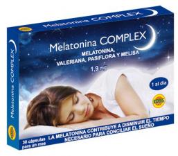 Melatonina Complex 1,9Mg 30 Caps. - Robis