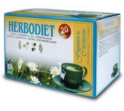 Herbodiet Inf. Favorece Tu Circulacion 20 Filtros - Novadiet
