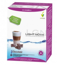 Light Nova Batido Chocolate 6 Sbrs. - Novadiet