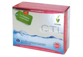 Cetoline Cetonas De Frambuesa Y L-Carnitina 60 Cap.  - Novadiet