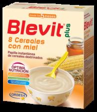 Blevit Plus 8 Cereales Con Miel 1000 Gr.