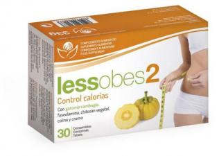 Lessobes 2 Control Calorias 30 Comp.