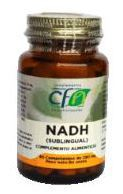 Nadh Sublingual 10Mg. 30 Comp. - Cfn