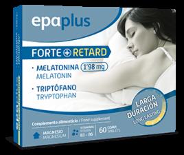 Epaplus Melatonina Forte+ Retard-Triptofano 60 Comp - Varios