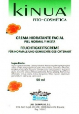 Crema Hidratante Piel Normal 50 Ml. Kinua - Bellsola