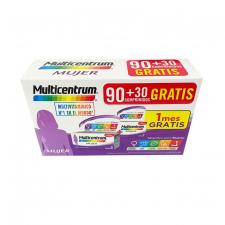 Pack Multicentrum Mujer 90 + 30 Comprimidos