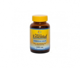 Nature Essential Omega 3-6-9 1000 Mg 30 Perlas - Farmacia Ribera