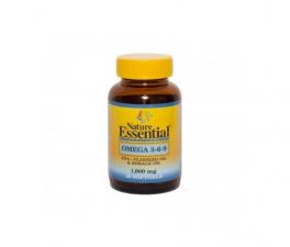 Nature Essential Omega 3-6-9 1000 Mg 30 Perlas - Farmacia Ribera