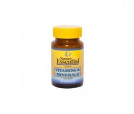 Nature Essential Vitaminas Y Minerales 60 Comprimidos - Farmacia Ribera