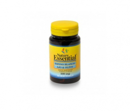 Nature Essential Espino Blanco+Ajo+Olivo 500 Mg 50 Perlas - Farmacia Ribera