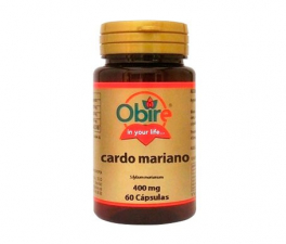 Obire Cardo Mariano 400 Mg 60 Cápsulas - Farmacia Ribera