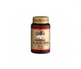 Obire Ginseng Y Jalea Real 600 Mg 60 Cápsulas - Farmacia Ribera