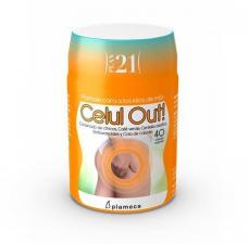 Celulout Anticelulitico 40 Cap. Plan 21 - Plameca