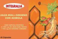 Jalea Real+Ginseng Con Acerola 45 Cap.  - Integralia
