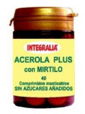 Acerola Plus Con Mirtilo 40 Comp. - Integralia